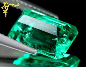 Oktagon Smaragd Rückseite