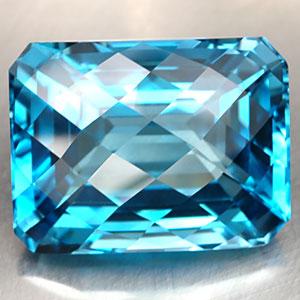 Edelsteine: Swiss Blue Topas In Einer Sehr Schönen Farbe.